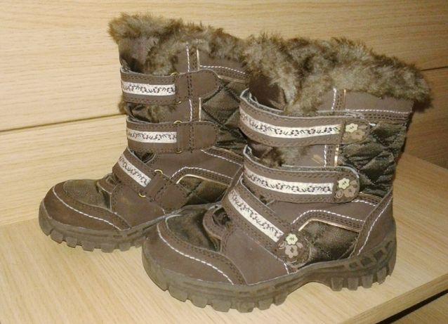 Зимние термо ботинки Next 30р, 19.5 см