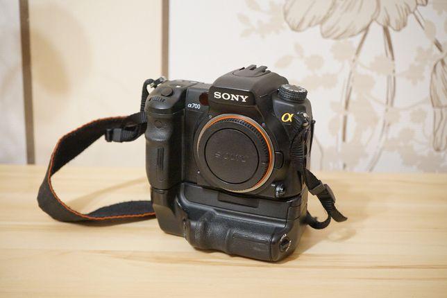 Sony A700 +Grip oryginalny