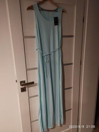 Sukienka Esmara Maxi morska, nowa rozm. 36/38