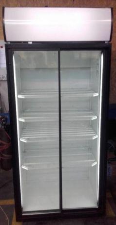 Szafa witryna chłodnicza oszklona NORCOOL S800SD 90cm drzwi rozsuwane