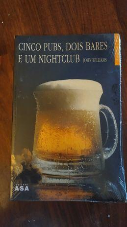 Livro Cinco pubs, dois bares e um night - club, de John Williams