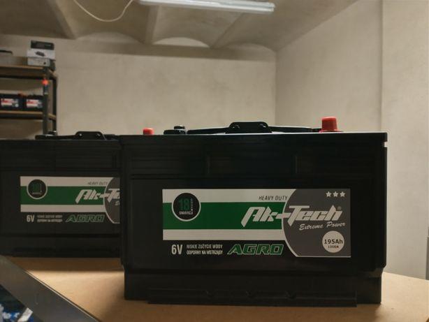 Akumulator rolniczy Ak-tech 6V 195Ah 1000A