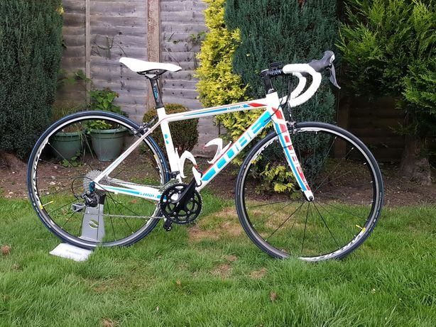 WYPRZEDAŻ !!! Rower szosowy CUBE PELOTON rozmiar 51cm Shimano 105 Mavi