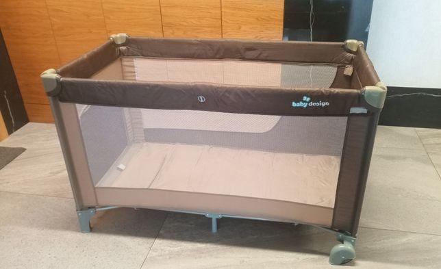 Łóżeczko turystyczne Baby Design DREAM * Kojec składany * stan idealny