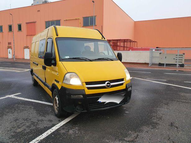 Opel Movano Renault Master 3.0 CTDI 2006 rok 6 osob furgon max