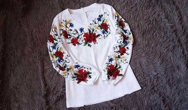 Вишиванка бісер блузка