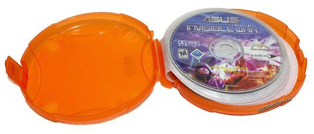 Футляр для CD-DVD дисков ASUS® на 12 дисков. Толщина вcего 30 мм.