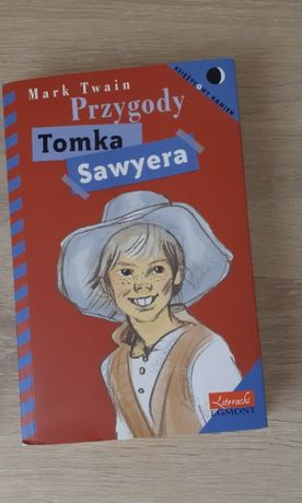 """Mark Twain """"Przygody Tomka Sawyera"""" z rysunkami."""