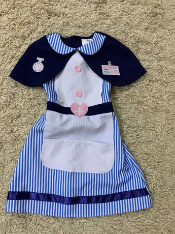 Игровое платье доктора медсестра на3-4года, на3-6, парикмахер на5-7лет