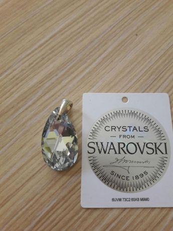 Zawieszka srebrna kryształ Svarovski