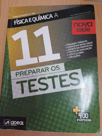 Preparar Testes 11 Fisica e Quimica A como novo