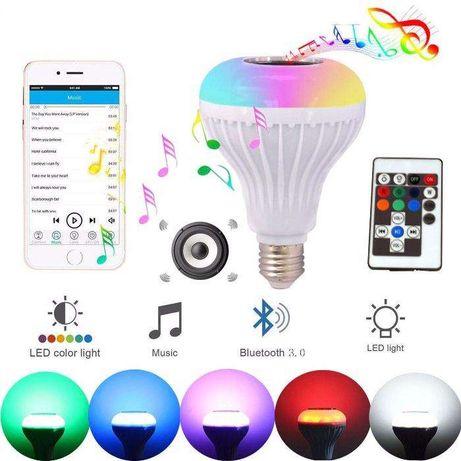 LED лампочка с музыкой