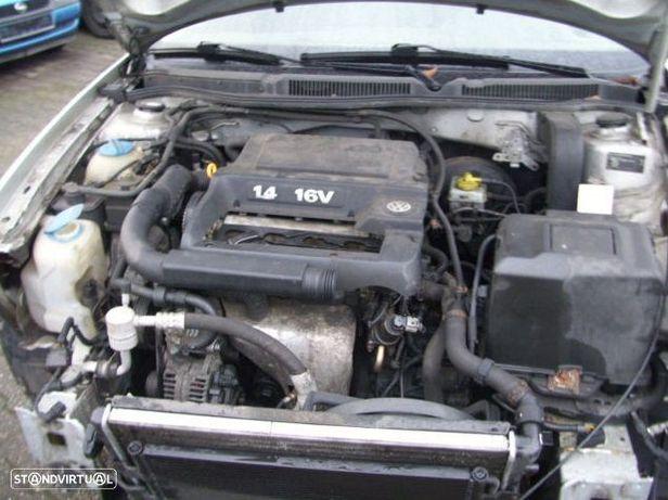 Motor Volkswagen Golf  Bora Lupo Polo New Beetle IV 1.4i 16v 75cv AHW APE AKQ AXP BCA Caixa de Velocidades Automatica - Motor de Arranque  - Alternador - compressor Arcondicionado - Bomba Direção