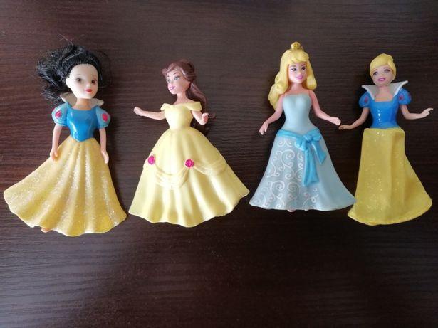 Magiclip Mattel Disney księżniczki Bella Aurora Śnieżka Kopciuszek