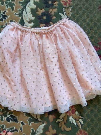Фатиновая розовая юбка!