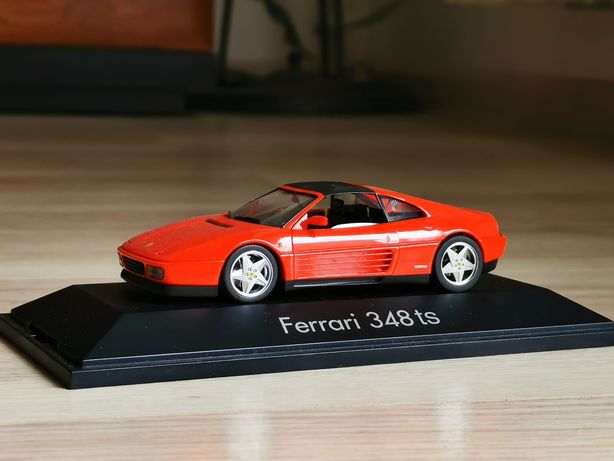 HERPA Ferrari 348ts 1/43 idealny / autoart minichamps ixo kyosho inne