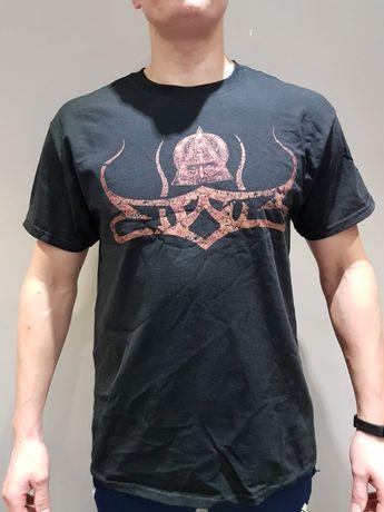 Koszulka męska z nadrukiem 17 sztuk , L + XL