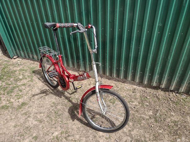 Продам складний велосипед