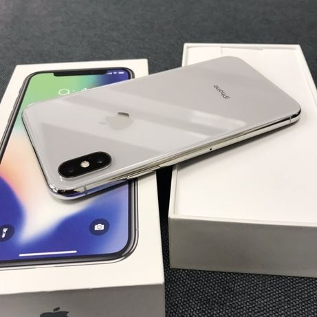 iPhone X 64Gb Silver Neverlock Айфон 10