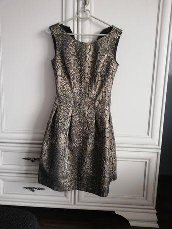Sukienka studniówkowa/sylwestrowa, rozmiar XS