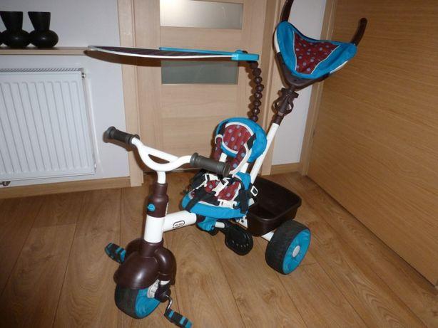 Rowerek dziecięcy little tikes trójkołowy 4 w 1 sport edit. spacerówka