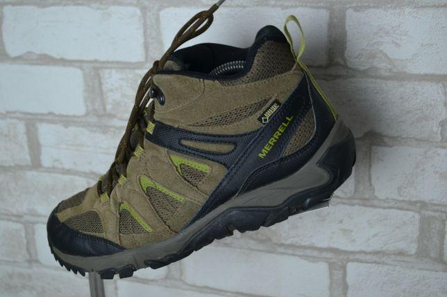 Кожаные непромокаемые кроссовки Merrell Gore-Tex кросівки 43 р 27см