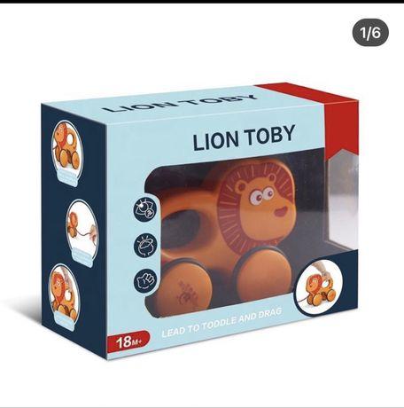 Каталка для самых маленьких (лев) Lion Toby новый цена 250 грн