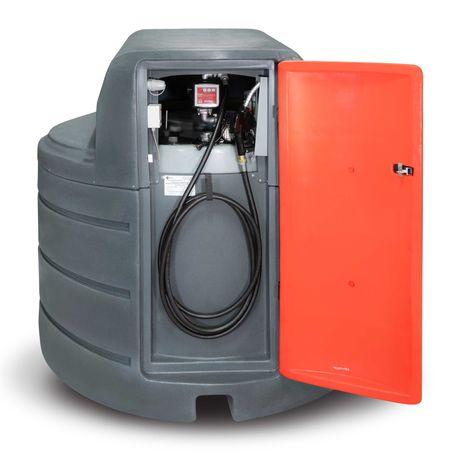Zbiornik dwupłaszczowy na paliwo paliwa 2500L ST