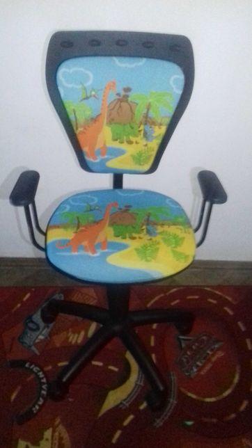 Krzesło obrotowe dziecięce MINISTYLE DINO