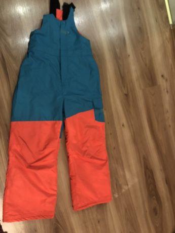 Spodnie narciarskie dziewczęce 9-10 lat