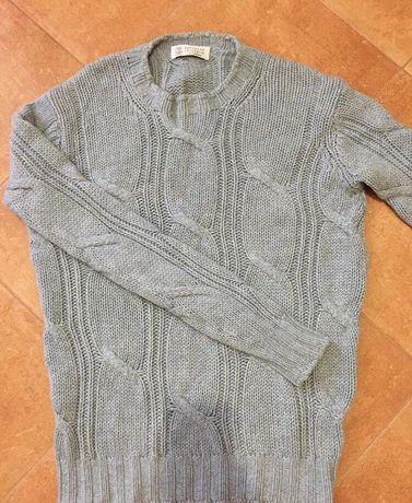 Мужской кашемировый свитер Brunello cucinelli