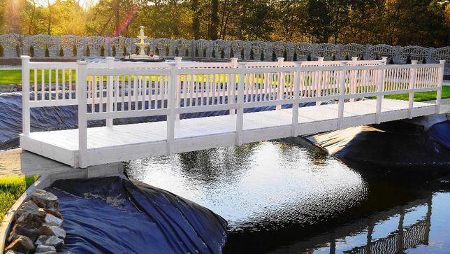 Most ogrodowy kładka mostek