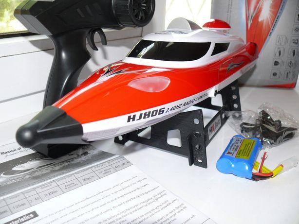 Катер HJ806 радиоуправляемый, красный, длина 48см. Скорость до 35 км/ч