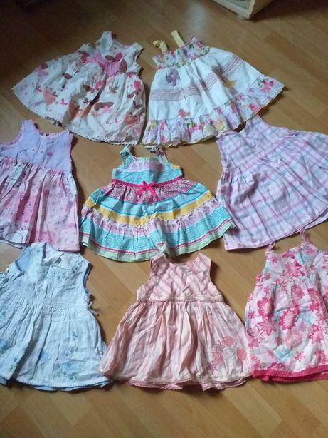 Ubrania dla dziewczynki 0-2 lat