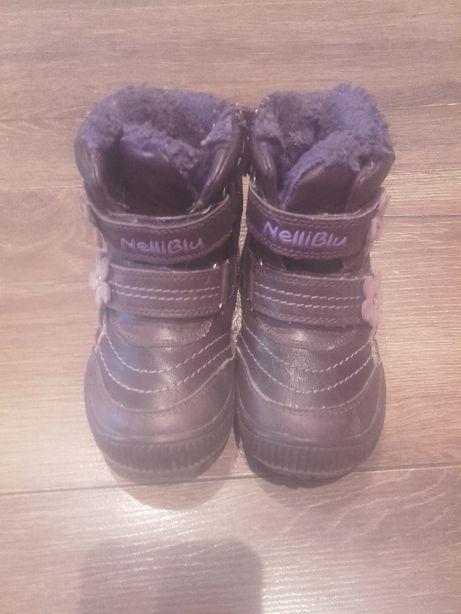 buty zimowe dla dziewczynki rozm. 23