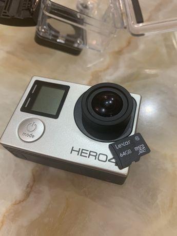 Продам GoPro 4 silver полный комплект