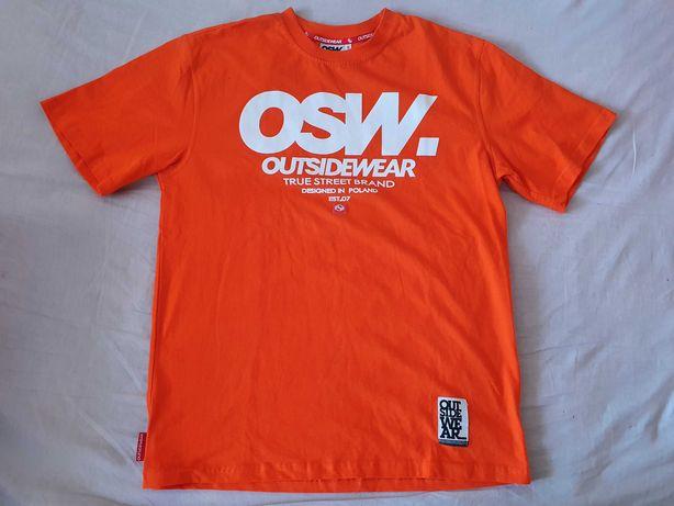Nowa koszulka OSW S t-shirt Outsidewear podkoszulek super kolor lato
