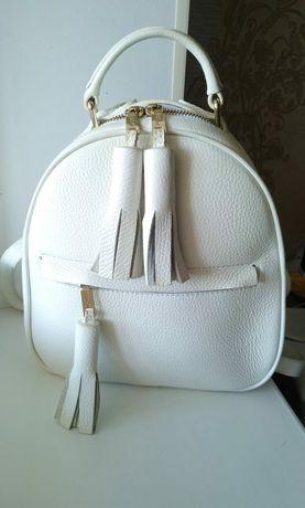Кожаный рюкзак  Fidelitti