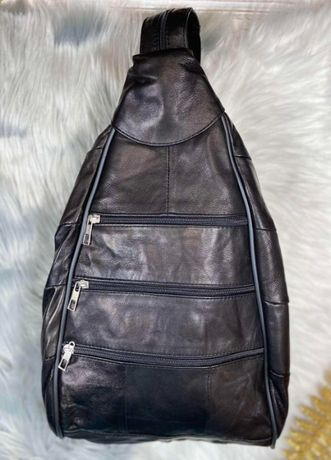 Женский рюкзак - сумка (Кожа)