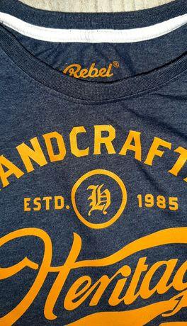 Koszulka/t-shirt/firmowe/ REBEL r.146