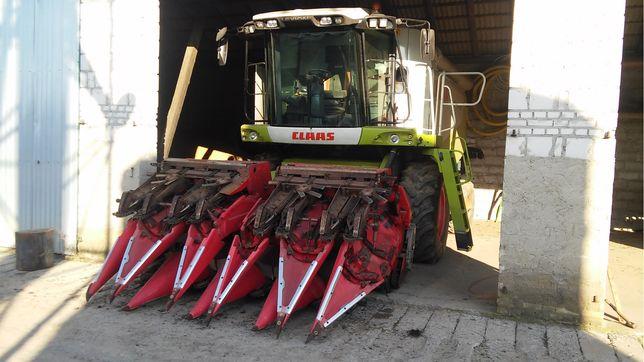 Usługowe koszenie kukurydzy