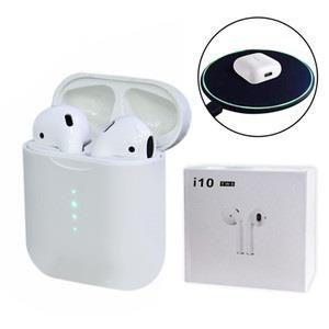 Оригинал AirPods i10 tws Беспроводные сенсорные Bluetooth наушники