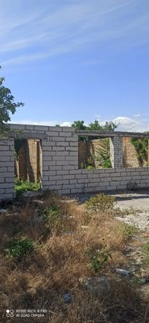 Продам участок с недостроенным домом, СОТ Озон-1, АКЗ. у моря