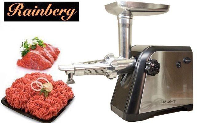 Новая мясорубка + соковыжималка Rainberg 3000 Вт / электромясорубка