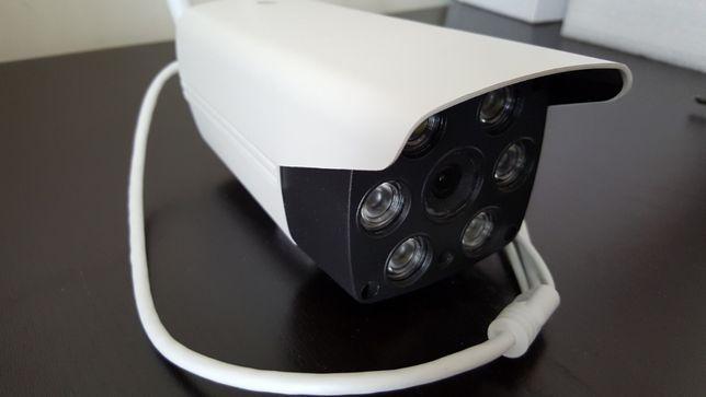 camera ip 1080p visão noturna com cor sem fios wireless wi-fi wifi net
