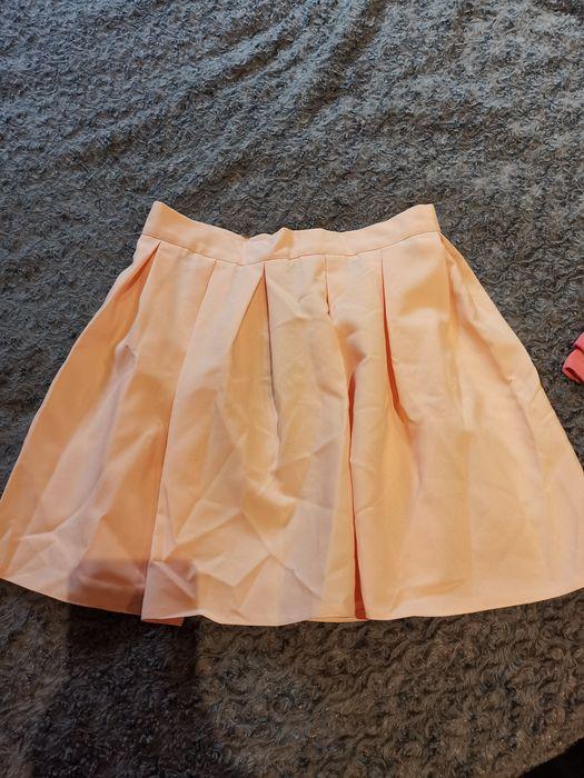 Spódnica morelowa pastelowa rozmiar S/M Chełm - image 1