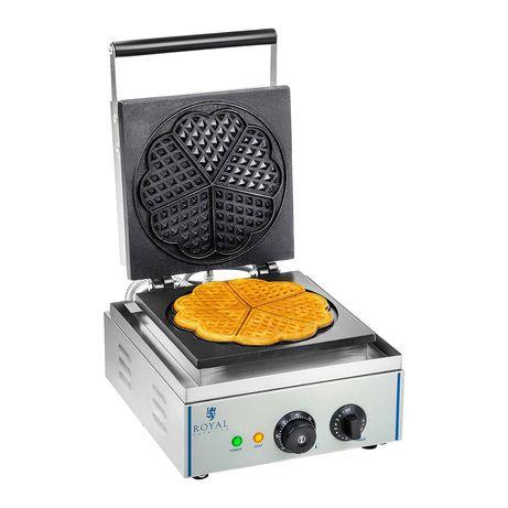 Máquina de Waffles / Espeto - 1 x 2000 watts - Retangular - 2.0 ,Novo