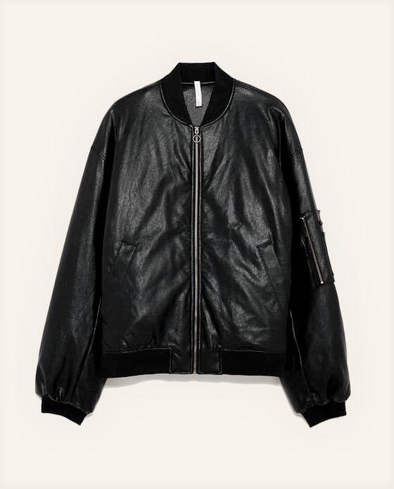 Casaco Bomber Jacket Oversize Homem - ZARA Man, Tamanho M