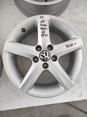 55 Felgi aluminiowe ORYGINAŁ VOLKSWAGEN Golf IV Polo R 15 5x100