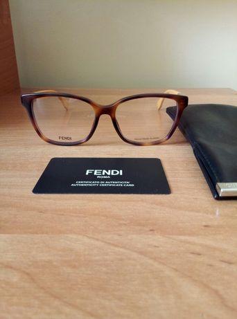 FENDI Louis Vuitton oryginalne nowe damskie oprawki korekcyjne okulary